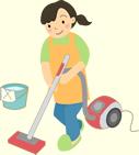 家事援助の様子